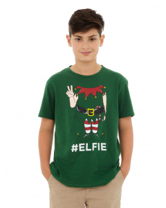 Lowes Kids Green Elfie T-Shirt