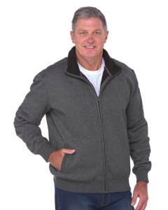 Cougars Full Zip Sherpa Lined Charcoal Jacket