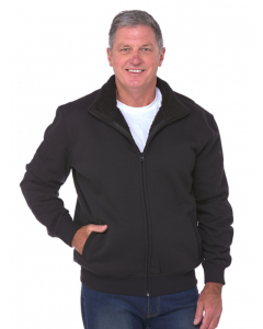 Cougars Full Zip Sherpa Lined Black Jacket | Cougars | Fleece | Lowes