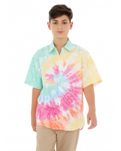 Lowes Kids Pink Tie Dye Shirt