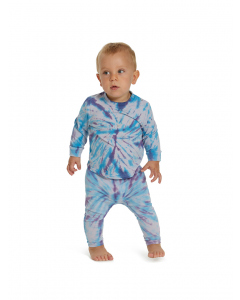 Lowes Baby Knitted Lilac Tie Dye Legging