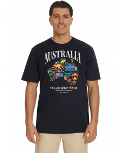 Lowes Navy Land Down Under T-Shirt