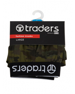Traders Camo Print Trunks