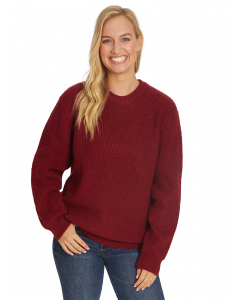 Unisex Berry Soft Touch Knit Pullover