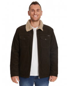 Prodigy Brown Corduroy Sherpa Lined Jacket