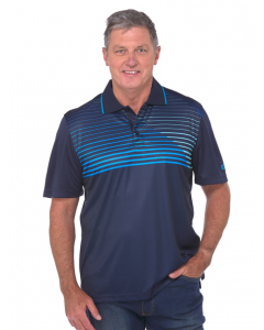 Cougars Navy Quik-Dry Sublimated Print Polo