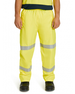 King Gee Yellow Wet Weather Reflective Pant
