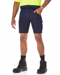 King Gee Navy Utility Straight Leg Shorts