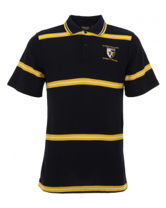 Navy/Yellow Sports Bumble Bee Polo Top