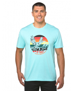 Lowes Mint Summer of Surf Print T-Shirt