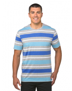 Lowes Aqua & Blue Stripe T-Shirt