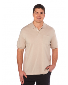 Lowes Stone Cotton Rich Stretch Polo