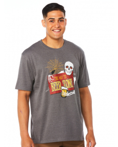 Lowes Grey Beer Zone Halloween T-Shirt