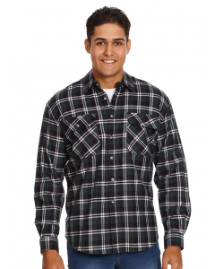 Lowes Green Check Flannelette Shirt