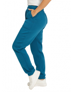 Lowes Unisex Teal Knitted Fleece Trackpants