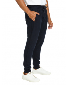 Lowes Navy Fleece Skinny Trackpants | Lowes | Track Pants | Lowes