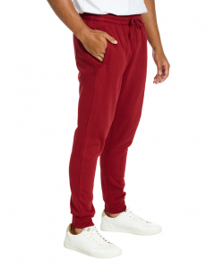 Lowes Shiraz Red Fleece Skinny Trackpants