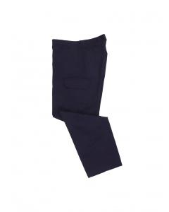 Lowes Navy Lightweight Cargo Trousers