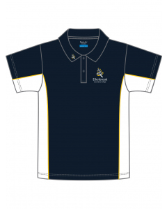New All Years Polo| SS Navy/White Polo With Embroi