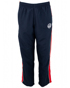 Navy/Red Track Pants
