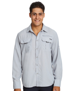Outer Peak Silver Long Sleeve Shirt