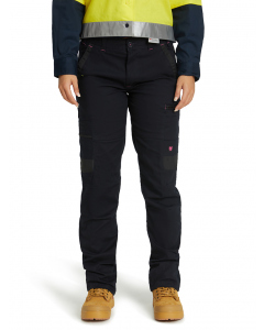 Traders Ladies Stretch Navy Multi Pocket Work Pant | Lowes | Trousers | Lowes