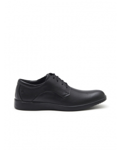 Hush Puppies Black Vitrus Oxford Lace Up Shoe