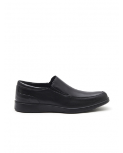 Hush Puppies Black Vitrus Slip On Shoe