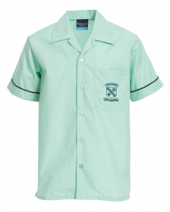 SS Layback Shirt With Embroidery