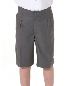 Grey Tailored Tab Side Shorts | Beare & Ley | Shorts | Lowes