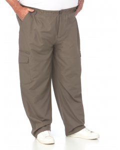 DBK Relaxed Fit Khaki Cargo Pants