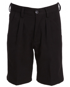 Black Deluxe College Shorts-Snr
