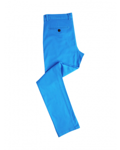 Traders Slim Fit Azure Chino