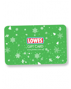 Lowes E-Gift - Christmas Design