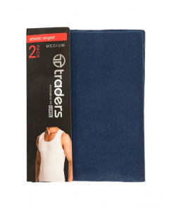 Traders Athletic Singlet 2 Pack
