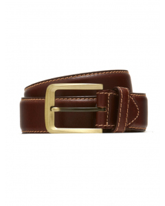 Traders Brown Genuine Leather Casual Belt