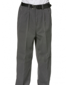 Grey College Trousers