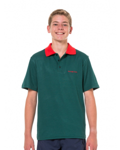 Bottle/Red Gonzaga House Polo Top