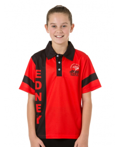 Red & Black House Polo