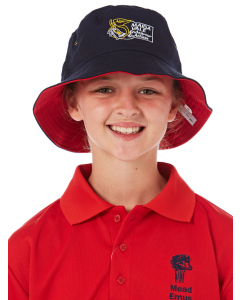 Reversible Navy & Red Hat