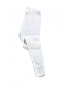 Traders White Waffle Knit Long Johns
