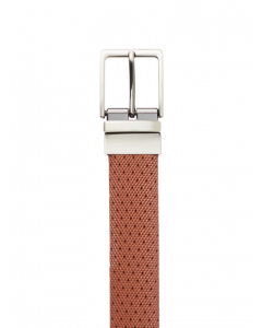 Traders Tan Split Leather Reversible Belt
