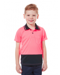Lowes Unisex Hi-Vis Pink Polo Top | Lowes | Kids | Lowes