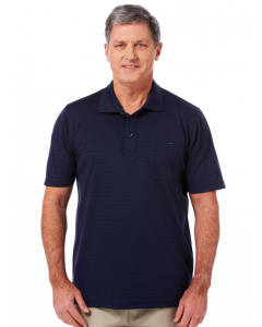 Cougars Quick Dry Navy Polo