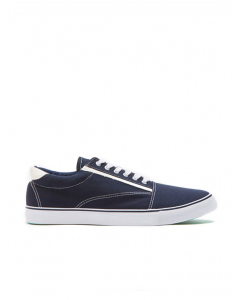 Traders Navy Canvas Casual Shoe