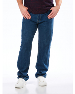 Traders Regular Fit Navy Stretch Jeans