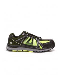 King Gee Comp-Tech Black & Lime Shoe