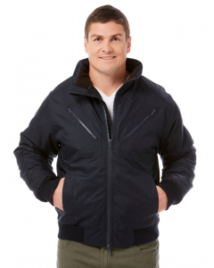 Lowes Navy Workwear Bomber Style Jacket