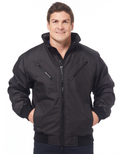 Lowes Black Workwear Bomber Style Jacket