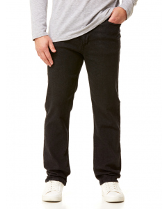 Traders Regular Fit Coal Stretch Jeans